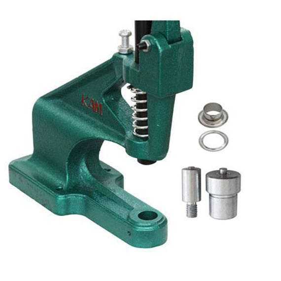 Eyelet Setting Tool Grommet Die Set for Green Hand Press Machine 2mm 20mm