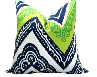 OUTDOOR - Tangier Frame pillow cover in Sea Grass