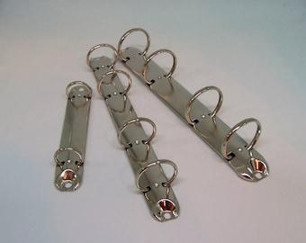 2-hole 4-hole ring binder ornament clip mechanism 124 mm 210 mm 192 mm Hardware Scrapbook Binding for Leathercraft