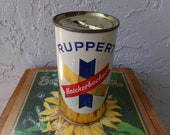 Beer can bank, vintage beer can bank, beer can, bank, Ruppert beer, Ruppert beer can