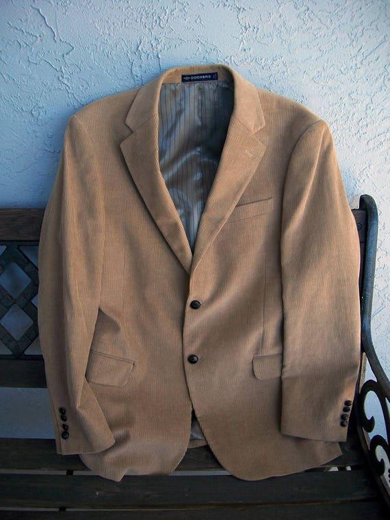 Men's Dockers Corduroy Suit Jacket, Dockers Cordu… - image 4