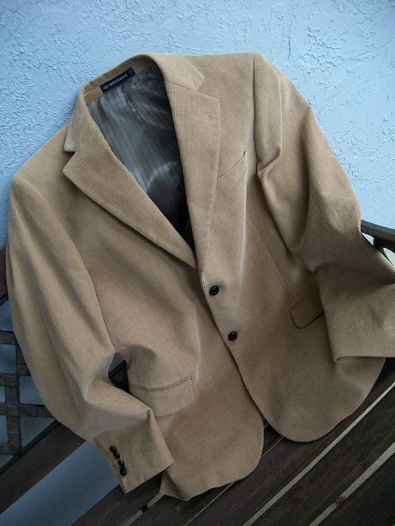 Men's Dockers Corduroy Suit Jacket, Dockers Cordu… - image 9