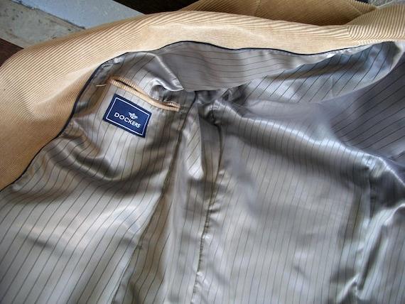 Men's Dockers Corduroy Suit Jacket, Dockers Cordu… - image 5