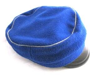 Cappello di scuola per ragazzi - scuola estone uniforme Hat - cappello di  lana blu - Cap scuola - scuola sovietica - torna a scuola 3fe23e8605ab