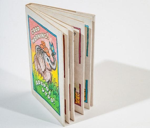 Schöne Vintage Kinderbuch Guten Morgen Dobroe Utro Hergestellt In Ussr Retro Illustrationen Russisch Und Englisch