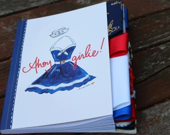 Ahoy Girlie Altered Journal