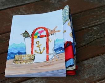 Beach Bag Altered Journal