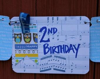 2nd Birthday Bunting