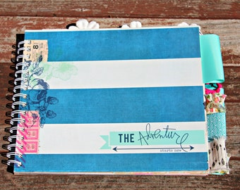 The Adventure Monthly Altered Planner (Undated)
