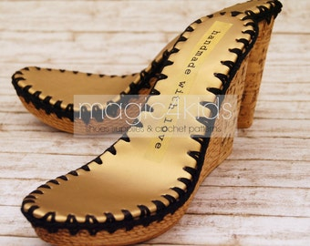 0ea5399bf8d WEDGES SOLES with insoles ready made for your own shoes projects
