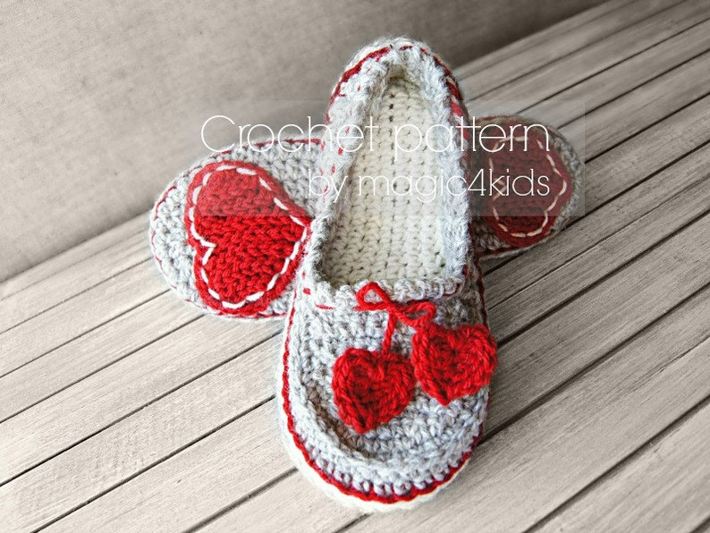 d99bbd5e8 Crochet pattern women slippersloafershome shoesfor
