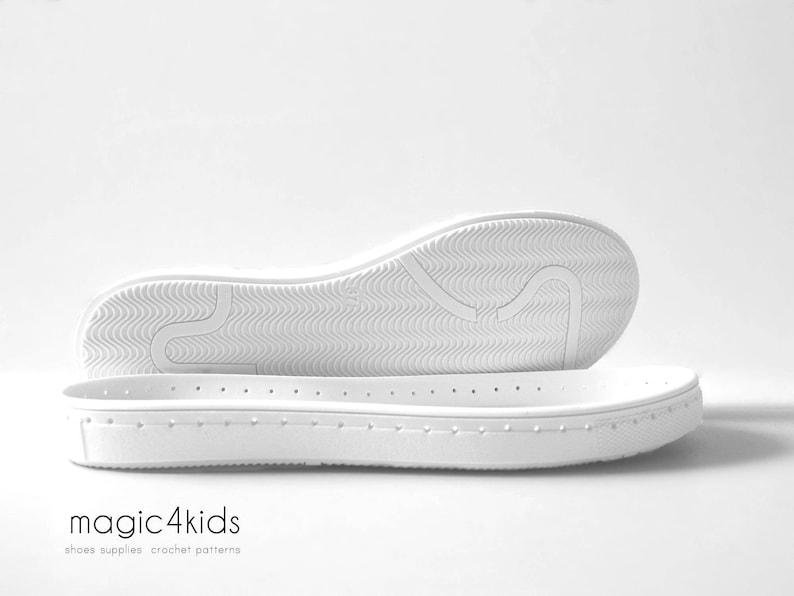 ab06539044c43f Suole di gomma pre-forata con solette per calzature suole