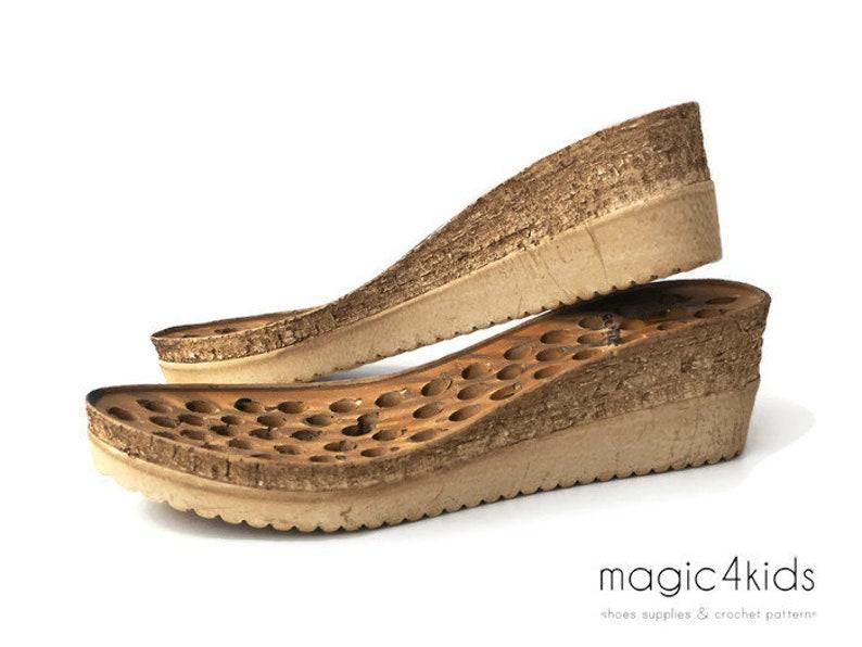 Avec Semelles Chaussures Intérieures Pour Compensées qUzGSVpM