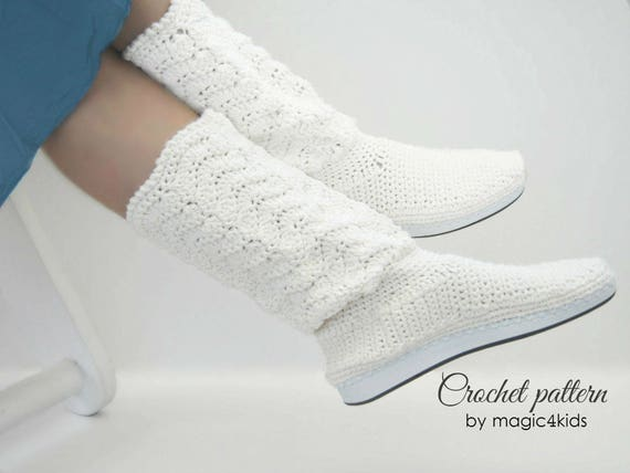 2307e4875b887 Crochet pattern: outdoor women lace boots,rubber soles,summer boots,all  female sizes,adult,girl,outdoor,shoes,rubber soles,girl,footwear