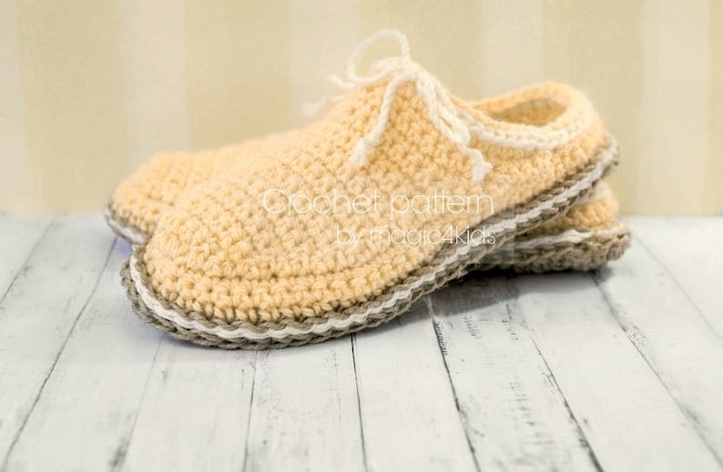 9e1e8e8192ab Crochet pattern-women basic clogs with jute rope solessoles
