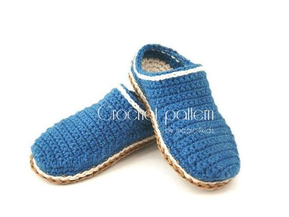 f6fcc507d71fb Crochet pattern- basic clogs for kids,10 sizes: 5