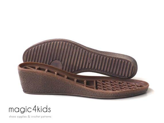 Keile Sohlen mit Einlagen hohe Qualität für Schuhe der   Etsy