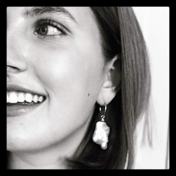 The Jean Arp Earrings with Diamonds