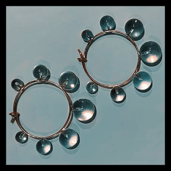 The Luna Crystal Hoops
