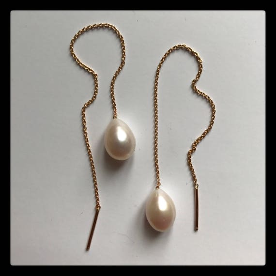 Mary Thread Earrings