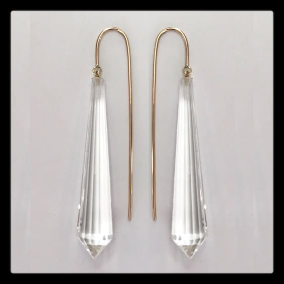 The Linette Crystal Earrings
