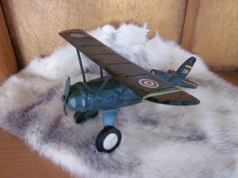 Monoplane  C1904  Z Toy Trench Art Model WW1 Plane Gift Aviation Airplanes Pilot