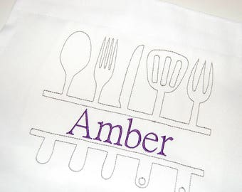 Personalized Apron, Team Apron, Bridal Party Gift, Bridesmaid Gift, Chef Apron, Cooks Apron, Gift for Her, Bakers apron, custom apron