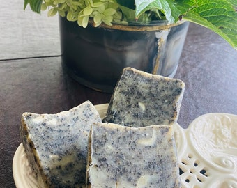 Coffee Scrub Soap with Coconut and Olive Oil