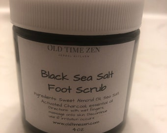 Black Sea Salt and Frankincense Scrub