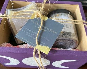 Full Moon Ritual Bath Gift Set ~ Aura Cleansing ~ Spa Gift Set