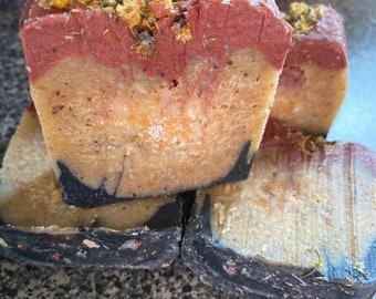 Activated Charcoal, Turmeric & Clay Soap Bar