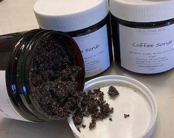 Organic Sugar & Coffee Scrub