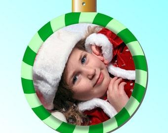 Photo Ball Ornament   Photo Ornament   Personalized Christmas  Ornament   Christmas  Ornament