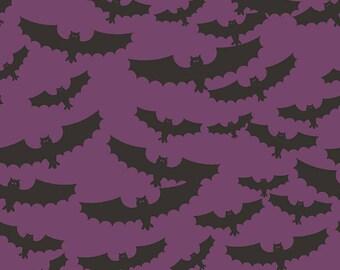 Lost & Found Halloween by My Mind's Eye for Riley Blake Designs C5120 Purple