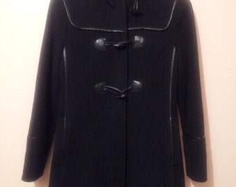 VIA SPIGA black wool coat