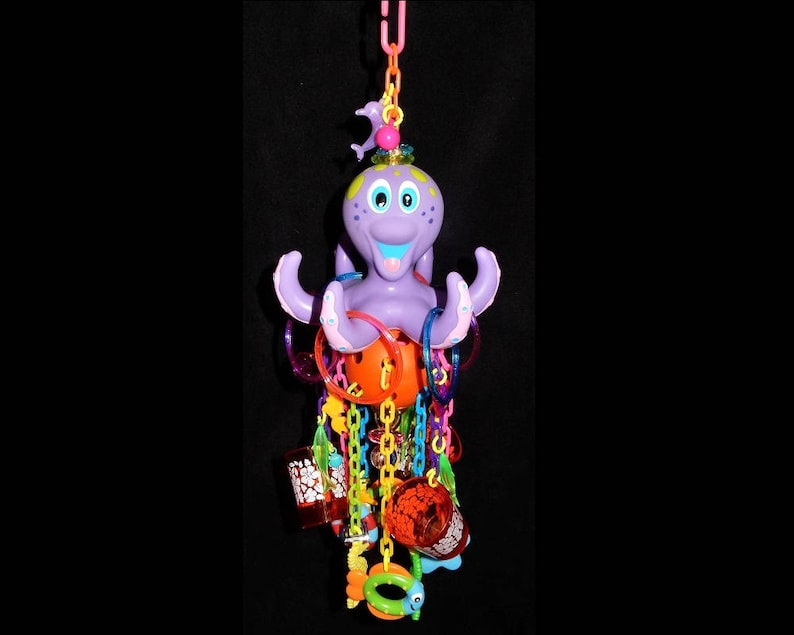 CUSTOM PET TOY Super Deluxe Octopus Lucky You GlidersSugar image 0
