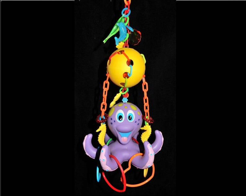 CUSTOM PET TOY Octopus Reset Lucky You Gliders Sugar Glider image 0
