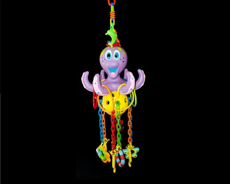 CUSTOM PET TOY Deluxe Octopus Reset Lucky You Gliders Sugar image 0