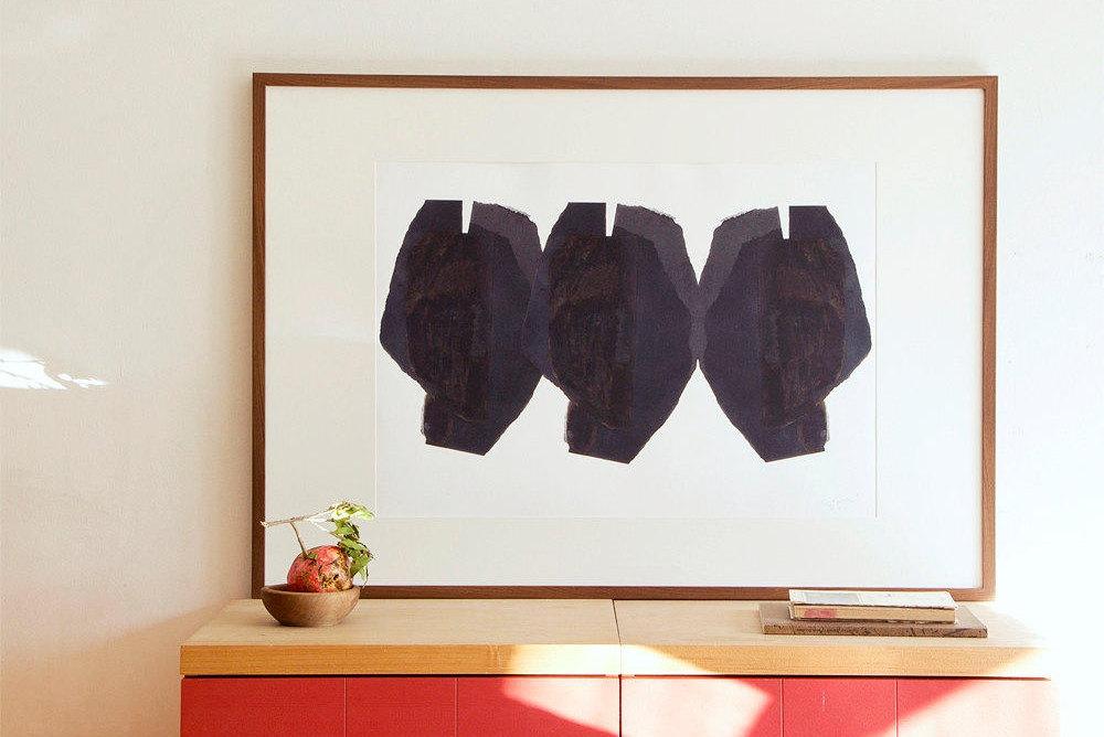 Große Wand-Kunst-Druck mit abstrakten Köpfe Kunstmalerei | Etsy