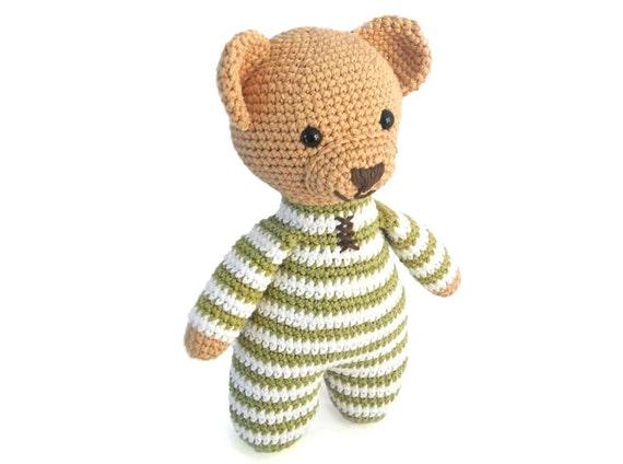 Amigurumi Crochet Patterns For Crochet Teddy Bear Pattern How Etsy