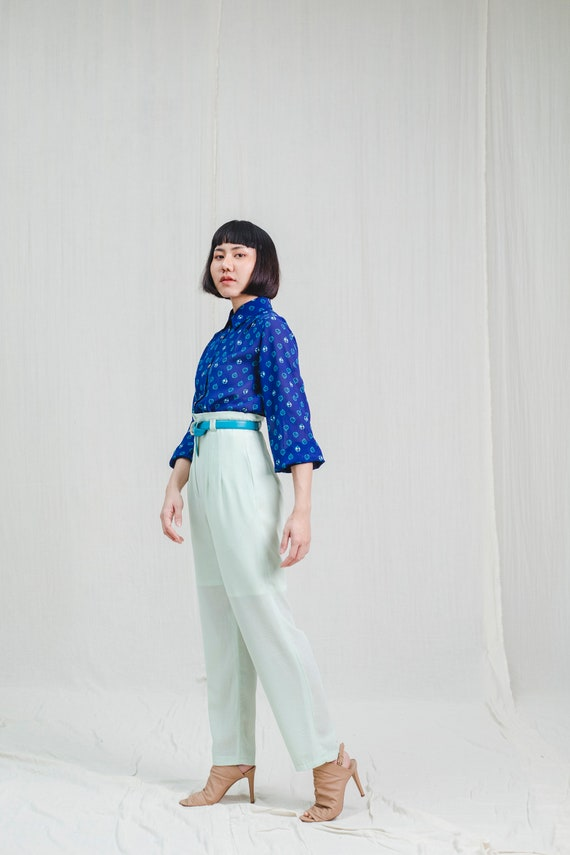 1980's high-waisted vintage pants