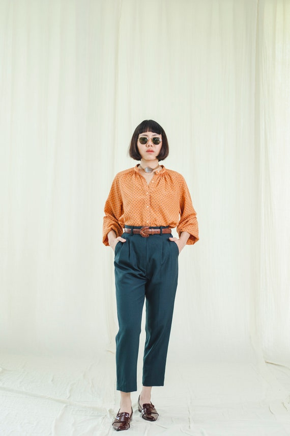 Trousers l Lovely high-waisted vintage trousers