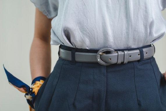 Belt   100% leather   Vintage 1980s