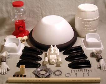 MST3K - Tom Servo Robot Replica Prop Kit - All the Parts to Make Your Own Bot