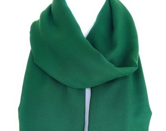 Emerald Scarf Shawl Green Infinity Scarf Christmas Gift For Her fall accessories Gift For Women Cowl Scarf Women