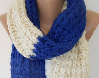 Outdoor Gift Knit Scarf Cozy Winter Scarf Knitted Scarf Clothing Travel Gift Holiday Christmas  For Wife For Mom For Best Friend Women Scarf