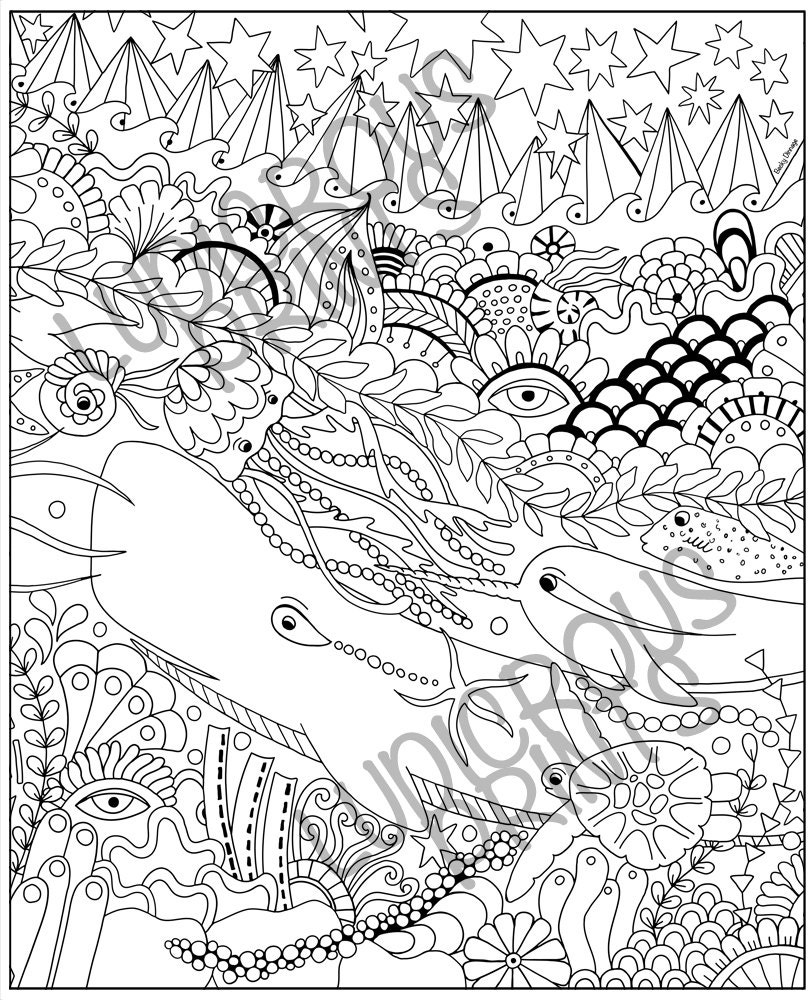 calm coloring pages - photo#17