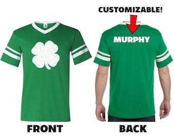 75471542f Personalized St Patricks Day Shirt | Custom Irish Ringer Jerseys | Cute St  Patrick Day Shirt | Irish Shirt | Custom St. Paddy's Day Shirt