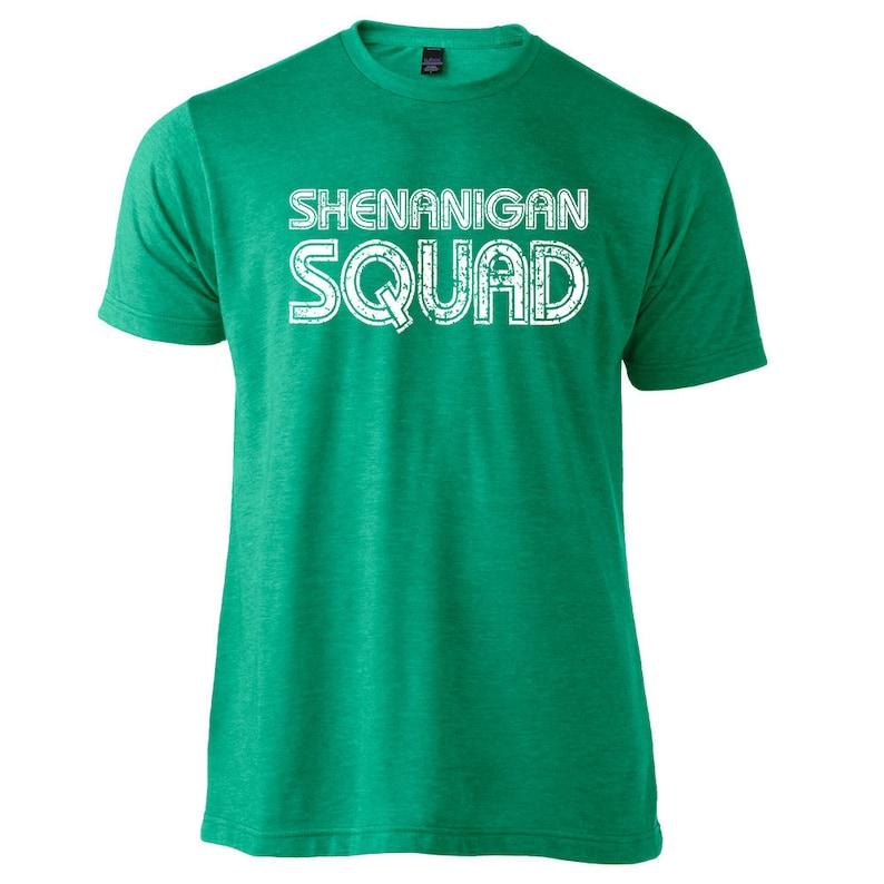 d56be236 Shenanigan Squad T-Shirt St Patricks Day T-Shirt Irish | Etsy