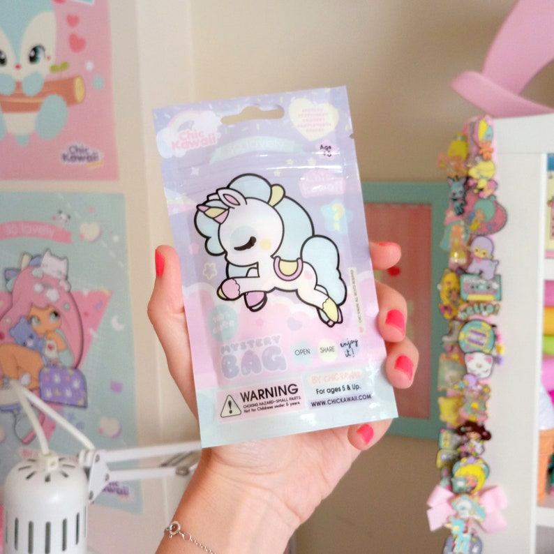 Chic kawaii surprise mistery bag super cute image 0